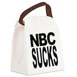 nbcsucksblk.png Canvas Lunch Bag