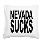 nevadasucks.png Square Canvas Pillow