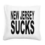 newjerseysucks.png Square Canvas Pillow