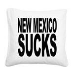 newmexicosucks.png Square Canvas Pillow