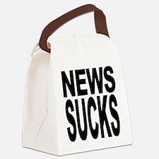 newssucks.png Canvas Lunch Bag