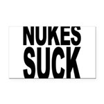 nukessuck.png Rectangle Car Magnet