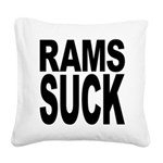 ramssuck.png Square Canvas Pillow