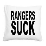 rangerssuck.png Square Canvas Pillow