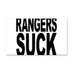 rangerssuck.png Rectangle Car Magnet