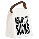 realitytvsucks.png Canvas Lunch Bag