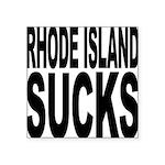 rhodeislandsucks.png Square Sticker 3
