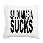 saudiarabiasucks.png Square Canvas Pillow