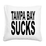 tampabaysucks.png Square Canvas Pillow