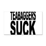 teabaggerssuck.png Rectangle Car Magnet