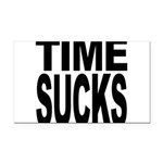 timesucks.png Rectangle Car Magnet