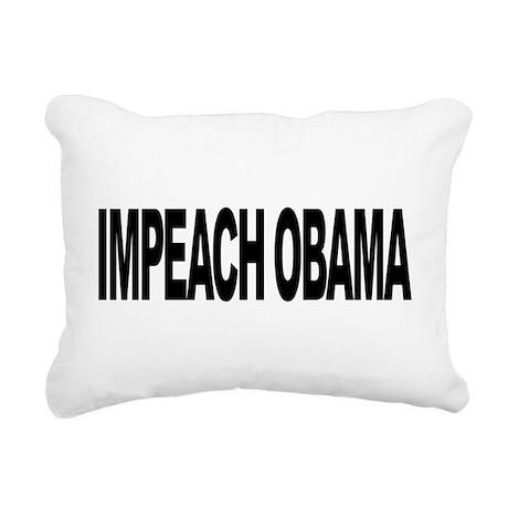 impeachobamalong.png Rectangular Canvas Pillow