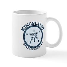 Kingsland GA - Sand Dollar Design. Mug
