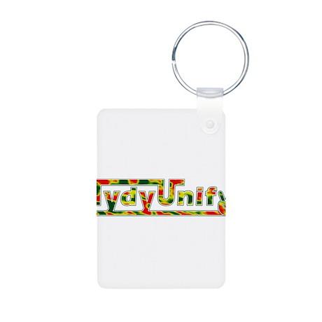 TydyUnify Rasta Aluminum Photo Keychain