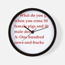 40.png Wall Clock