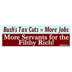More Jobs by Bush Bumper Bumper Sticker
