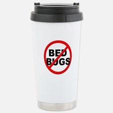 Anti / No Bed Bugs Stainless Steel Travel Mug