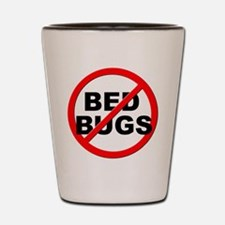 Anti / No Bed Bugs Shot Glass