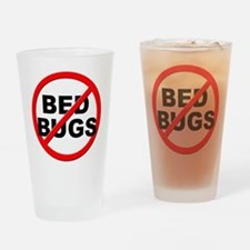 Anti / No Bed Bugs Drinking Glass