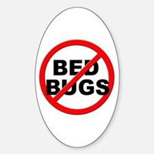 Anti / No Bed Bugs Decal