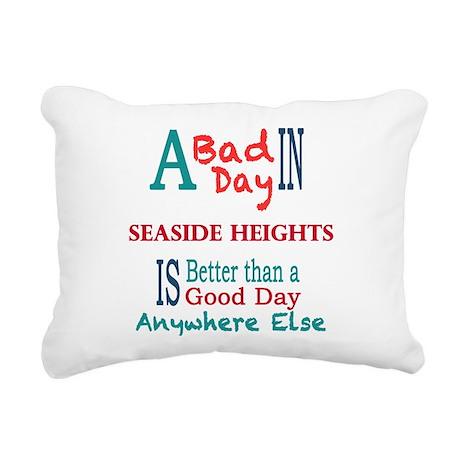 Seaside Heights Rectangular Canvas Pillow