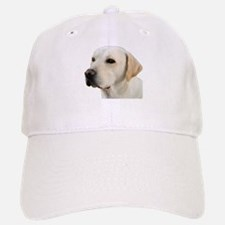 Yellow Lab Head Baseball Baseball Cap