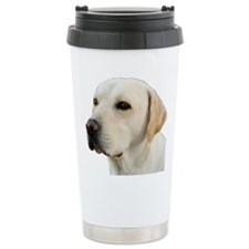 Yellow Lab Head Travel Mug