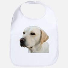 Yellow Lab Head Bib
