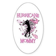 HuRRiCaNe MoMMy Oval Decal