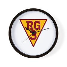 RG3 Wall Clock