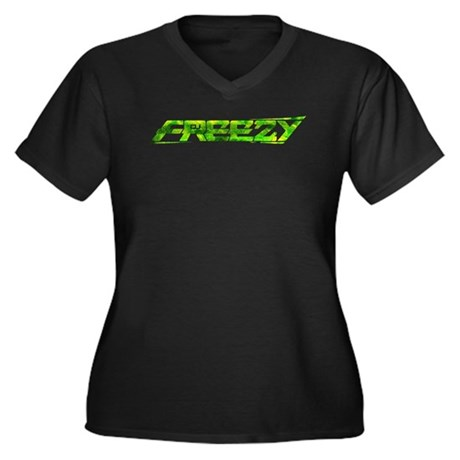 freezy_trans_green_cafepress.png Women's Plus Size