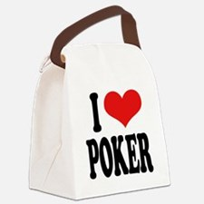 ilovepokerblk.png Canvas Lunch Bag