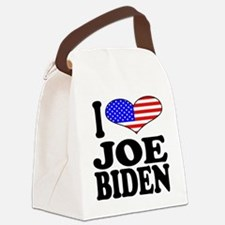 ilovejoebidenblk.png Canvas Lunch Bag