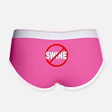 Anti / No Swine Women's Boy Brief