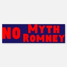 Myth Romney Bumper Bumper Sticker