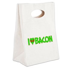 ialienlovebacon.png Canvas Lunch Tote
