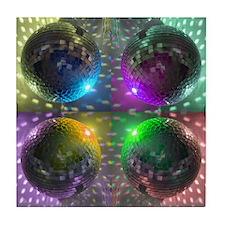 Disco Ball Tile Coaster