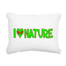 ialienlovenature.png Rectangular Canvas Pillow