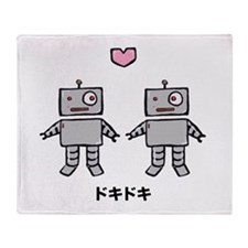Robot Love - Doki Doki Throw Blanket