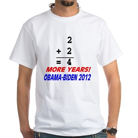 Arithmetic matters White T-Shirt