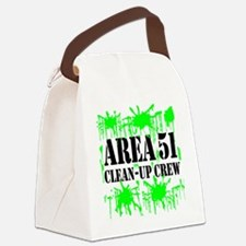area51cleanupcrewblk.png Canvas Lunch Bag