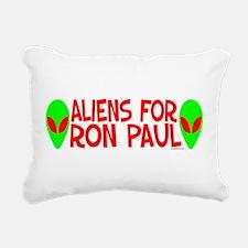 aliensforronpaul.png Rectangular Canvas Pillow