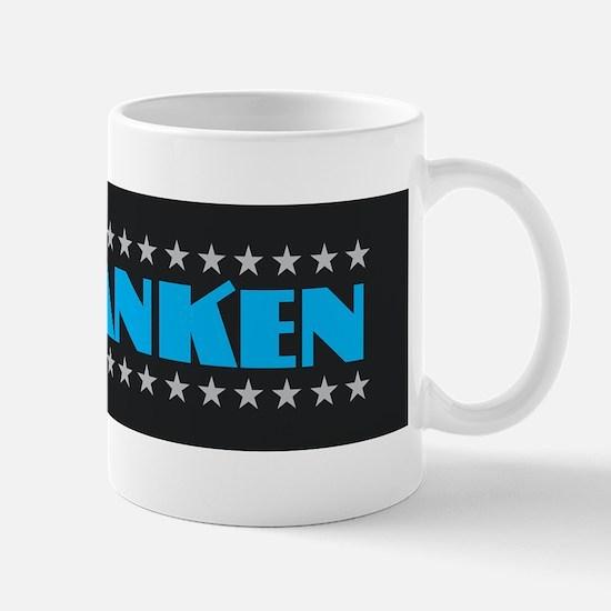 Al Franken Sticker Mugs