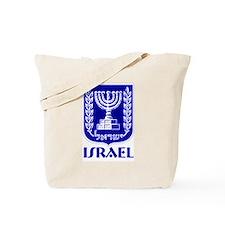 """""""Israel"""" Coat of Arms Tote Bag"""