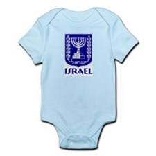 """Israel"" Coat of Arms Infant Creeper"