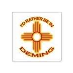 idratherbein-deming.png Square Sticker 3