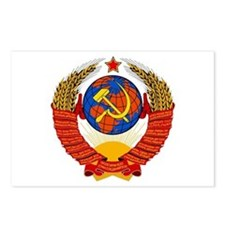 Soviet Union Coat of Arms Postcards (Package of 8)