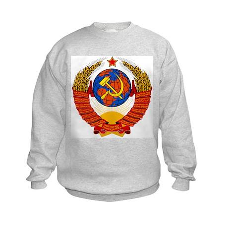 Soviet Union Coat of Arms Kids Sweatshirt