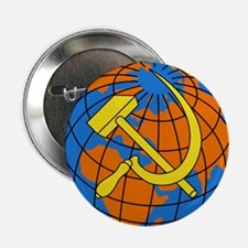 """Soviet Union Coat of Arms 2.25"""" Button (10 pack)"""