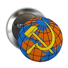 Soviet Union Coat of Arms Button
